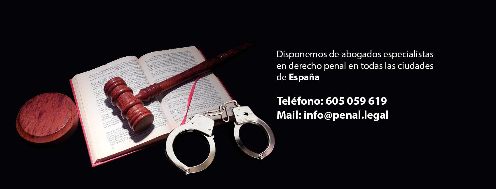 abogados especialistas en derecho penal