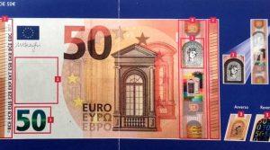 BILLETE DE 50 EUROS POSIBLEMENTE FALSO