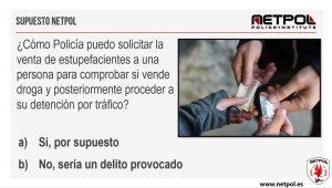 delito de tráfico de drogas provocado por la policía